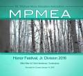 MPMEA Mount Pilchuck Music Educator's Association Honor Band and Choir 1-14-2016