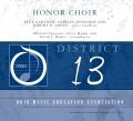 Ohio OMEA District 13 High School Honors Chorus 2-23-2019 MP3