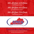 2018 Kentucky Music Educators Association KMEA Feb. 8-10, 2018 All-State Men's Chorus, Women's Chorus, & Mixed CD/DVD