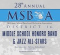 MSBOA District 16 Middle School Honors Band & Jazz All-Stars  3-26-19 CD