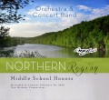 CMEA Connecticut Northern Region Middle School Band & Orchestra 2-20-2016 CD & DVD