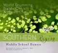 CMEA Connecticut Southern Region Middle School  Treble Choir, Mixed Choir & World Drumming CD & DVD