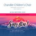 ACDA Western 2020 Chandler Children's Choir CD