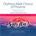 ACDA Western 2020 Orpheus Male Chorus of Phoenix CDs, DVDs, and Combo Sets