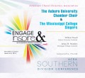 ACDA Southern Division Conference 2014 The Auburn University Chamber Choir & The Mississippi College Singers