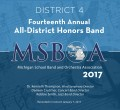 Michigan MSBOA District 4 Honors Band 1-7-2017 CD