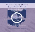 Ohio OMEA 2016 University of Akron Symphonic Band