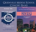 Ohio Music Education Association OMEA 2017 Greenville Middle School Concert Band Feb. 2-4, 2017 CD/DVD