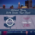 Ohio Music Education Association OMEA 2018 Hilliard Tharp 6th Grade Band CD