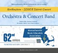 MMEA Massachusetts 2020 Northeastern Senior Festival Orchestra and Concert Band 1-11-2020 CDs. DVDs, and Combo Sets