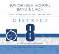 Ohio OMEA District 8 JH Band & Choir 11-23-19 CD