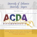 2018 ACDA Eastern Division Conference March 7-10, 2018  University of Delaware Singers MP3