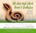 Michigan MSBOA 2019 All-State High School Band & Orchestra CD/DVD 1-26-19
