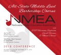 Nebraska Music Education Association 2018 NMEA Middle Level Barbershop Chorus  CD  November 16, 2018 CD
