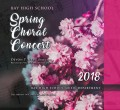 Bay High School Choir 5-23-2018 CD