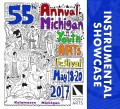 Michigan Youth Arts Festival MYAF 2017 Instrumental Collage 5-20-2017 CD