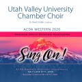 ACDA Western 2020 Utah Valley University Chamber Choir CD