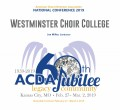 ACDA 2019 National - Westminster Choir College CD/DVD