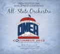 Ohio OMEA Conference 2012 All-State Orchestra CD-DVD Set