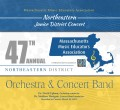 MMEA Massachusetts 2019 Northeastern Junior Festival Band & Orchestra 3-30-2019 CD / DVD