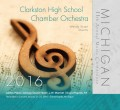 Michigan Music Conference 2016 Clarkston High School Chamber Orchestra