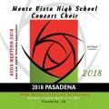 ACDA Western Division 2018 Monte Vista High School Concert Choir March 14-17, 2018 CD