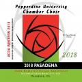 ACDA Western Division 2018 Pepperdine University Chamber Singers March 14-17, 2018 CD