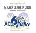 ACDA 2019 National - Muller Chamber Choir CD/DVD