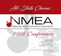 Nebraska Music Education Association 2019 NMEA All State Chorus November 23, 2019  CD, DVD, and Combo-Sets