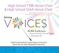 ACDA Central-North Central 2020 High School SSAA and TTBB Honor Choirs 3-7-2020 CDs, DVDs, & Combo Sets