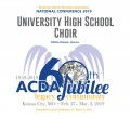 ACDA 2019 National - University High School MP3
