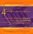 Michigan MMC 2009 All State Middle School Band and Orchestra CD-DVD Set