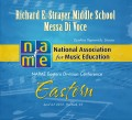 NAfME Eastern Division Conference 2013 Richard E. Strayer Middle School Messa Di Voce