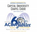 ACDA 2019 National - Capital University CD