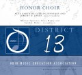 Ohio OMEA District 13 High School Honors Chorus 2-23-19 CD