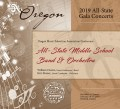 Oregon OMEA 2019 Middle School All-State Band & Orchestra 02-14-19 CD/DVD