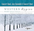 CMEA Connecticut Western Region Middle School 2017 Concert Band, Chorus & Jazz Band 3-18-2017 CD/DVD