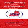 2018 Kentucky Music Educators Association KMEA Feb. 8-10, 2018 Commonwealth Strings & All-State Symphony Orchestra CD/DVD