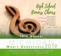 Michigan MSVMA 2019 High School Honors Choirs CD/DVD 1-26-19