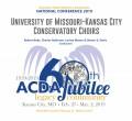 ACDA 2019 National - University of Missouri KC- Music of Chen Yi and Zhou Long   CD-DVD