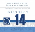 Ohio OMEA District 14 Middle School Honors Band 1-12-2020  MP3