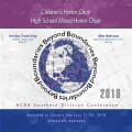 ACDA Southern Division 2018 Children's Honor Choir & High School Mixed Honor Choir Feb. 21-24, 2018 CD/DVD