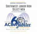 ACDA 2019 National - Southwest JH Men CD/DVD