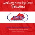 2018 Kentucky Music Educators Association KMEA Feb. 8-10, 2018 McCracken County Percussion Ensemble CD