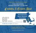 2018 Massachusettes MEA Northeastern Senior Festival Band & Orchestra 1-13-2018 CD/DVD