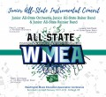 Washington WMEA 2019 All State Junior Baker Band, Ranier Band, & Orchestra 2-17-19 CD/DVD