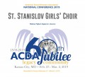 ACDA 2019 National - St Stanislav Girls' Choir CD/DVD