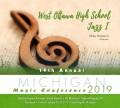 Michigan MMEA 2019 West Ottawa High School Jazz CD 1-26-19