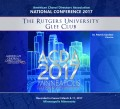 ACDA American Choral Directors Association 2017 Rutgers University Glee Club March 8-11, 2017 CD/DVD