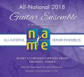 NAfME National Association for Music Education 2018 All National Guitar Ensemble 11-28-2018  CD